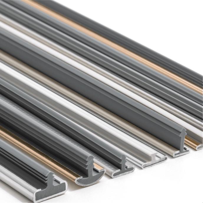 Profili decorativi in alluminio